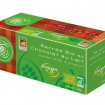 CEMOI - 3D Barres Bio Chocolat Lait Bio