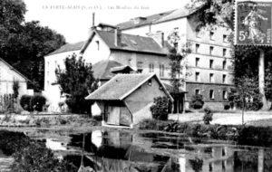 PHOTO ANCIENNE - Moulins Fouché