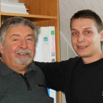 Michel et Bastien Albrieux