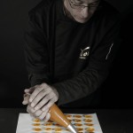 Chocolat Voisin - Fabrication des coquilles nougatine