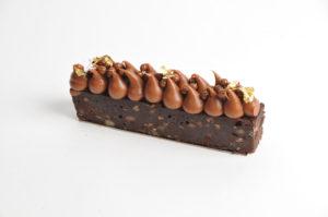 Brownies crémeux caramel