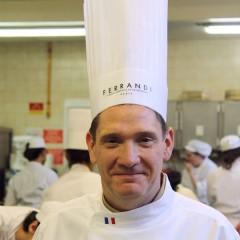 Régis Ferey, chef pâtissier au Palais de l'Elysée rejoint le corps professoral de FERRANDI Paris