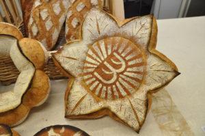 Pain fleur et logo - Meilleur Jeune Boulanger de France