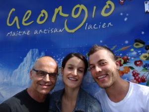 Le Glacier Georgio - Georges, Claire et Vincent Sbihi