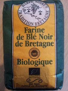Farine de blé noir de Bretagne bio