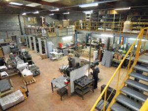 Atelier de fabrication Savy Goiseau à Vernouillet
