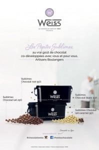 Les Sublimes -Chocolat Weiss