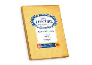 Beurre Lescure plaque 1kg
