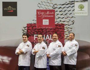 Coupe du Monde de la Pâtisserie - équipe d'Egypte - Sirha 2015