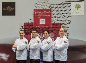Coupe du Monde de la Pâtisserie - équipe du Maroc - Sirha 2015