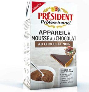 Président appareil mousse chocolat