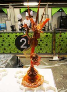 Arts Gourmands - 1er Prix plus belle pièce en Pâtisserie Romain BAUERLE CFA le CEPAL