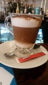 Café de la Poste, Edimbourg - Chocolat chaud