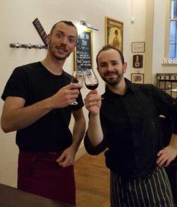 Café de la Poste, Edimbourg - Vincent Fontaine et Pierre Trassard