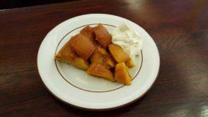Café de la Poste, Edimbourg - Tarte tatin