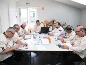 Les jury relèvent les notes - Festival National des Croquembouches