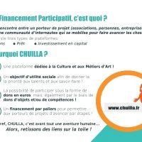 www.CHUILA.fr  : Le site de financement participatif des métiers créatifs !